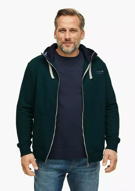 s oliver sweatshirt jacke herren