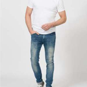 Jeans slim Petrol